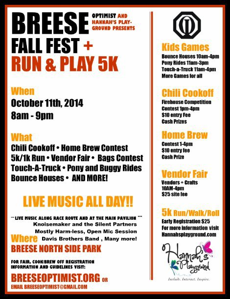 Breese Fall Fest 10-11-14