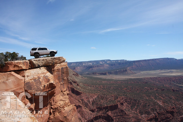 4Runners in Moab