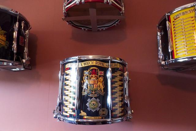 Black Watch drum, Inveraray Castle