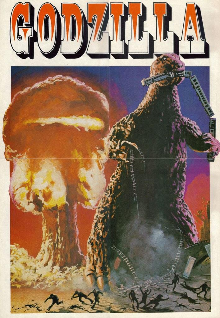 Godzilla pin-up 02