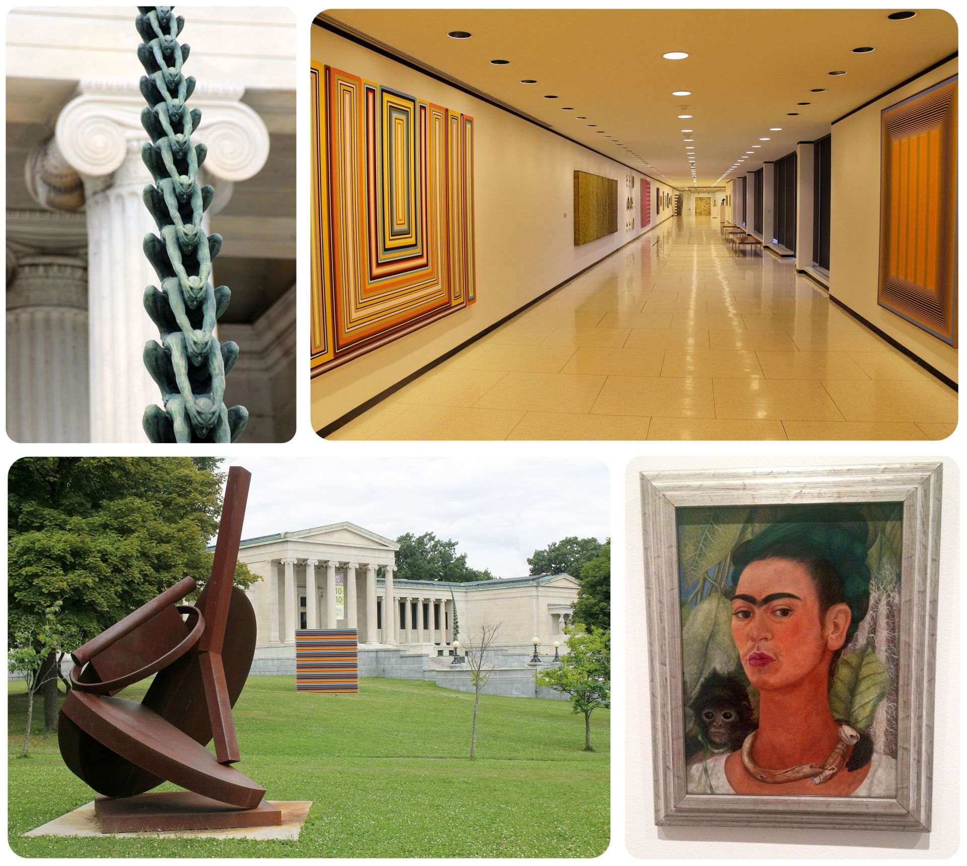 Albright Knox Gallery in Buffalo