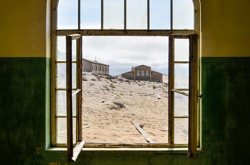 Kolmanskop ghost mining town - Hospital