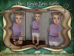 {LBM} Purple Tunic Outfit ad