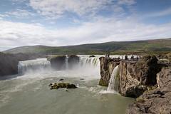 Goðafoss en Húsavík - 24 juli 201