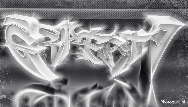 3d graffiti in blender 3d