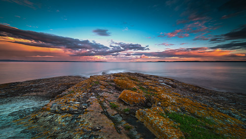 sunset sea sky color nature water norway clouds nikon waves cloudy le coastline afterglow d800 14mm samyang