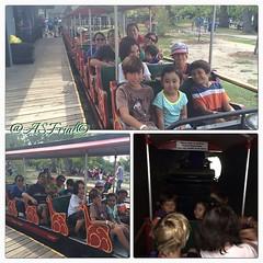 Late post: train ride. #centreville #centreisland #torontoisland #jyllianerycka #jyllian #family #lastweekendofsummer #funtimes #memories