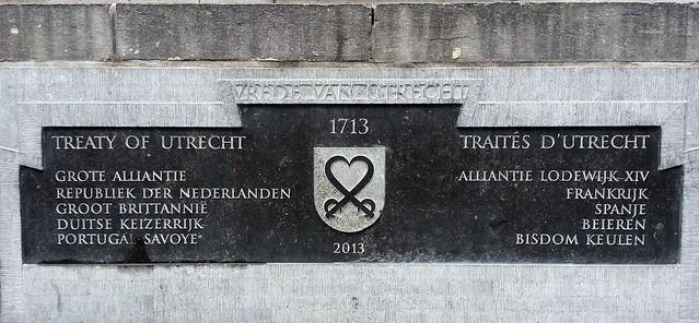 Treaty of Utrecht 1713  (Verdrag van Utrecht / Traités d'Utrecht)