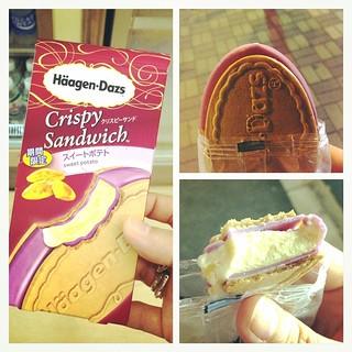 蕃薯雪糕三文治