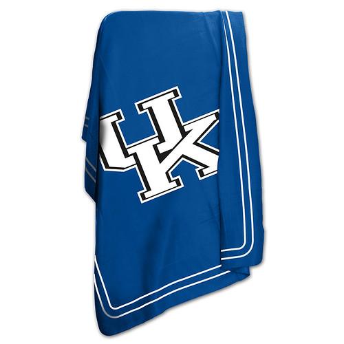 Kentucky UK Wildcats NCAA Classic Fleece Throw