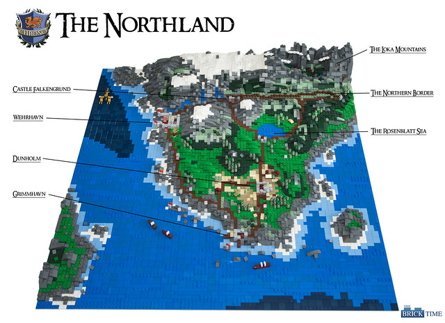 The Northland - Map