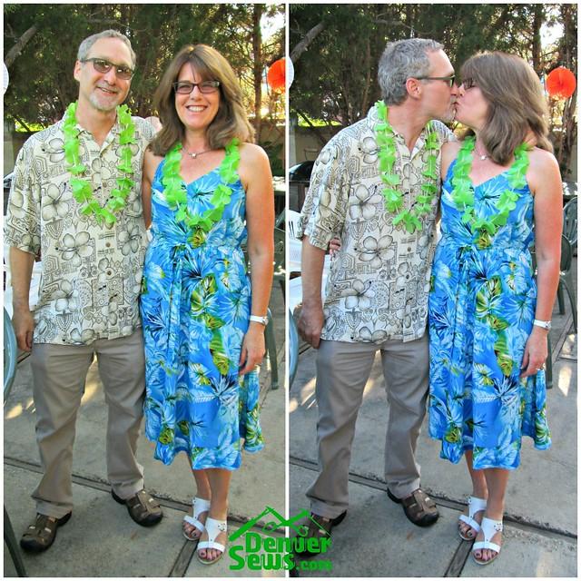 Denver To Hawaii: The Tie-On Dress Hawaiian Style