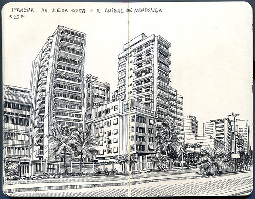 beach hotels and apartments, ipanema, rio