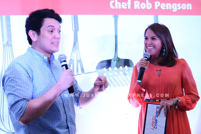 CHEF ROB PENGSON. Chef Rob shares his story to Gelli Victor.