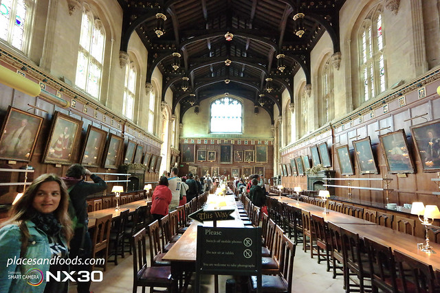 oxford harry porter dining hall