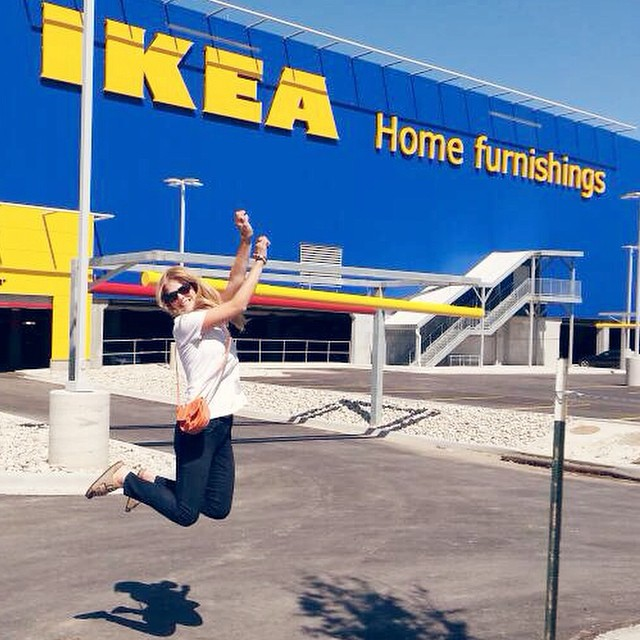 Sometimes it pays to have friends in high places! IKEA family and friends day! Squeeeee!!!! #ikea #kc #kansascity #yay