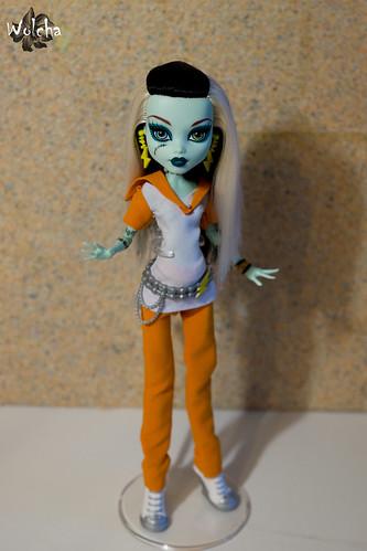 Monster high Frankie Stein I love fashion