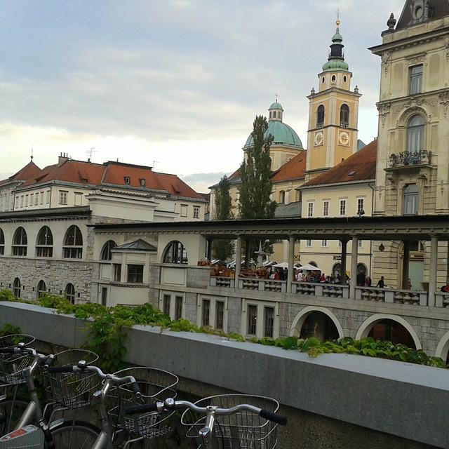Ljubljanan keskustaa