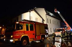 Feuer Dachgeschosswohnung - 07.09.14