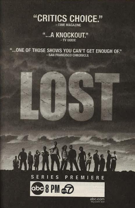 Lost 2004 premiere ad