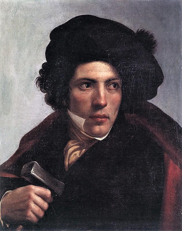 Enrico Bandini - Ritratto dello scultore Tommaso Bandini