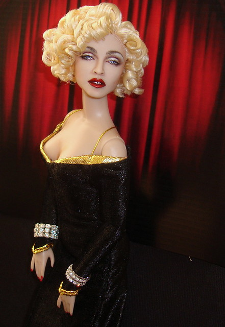 Madonna as Breathless Mahoney Dick Tracy Doll by Cyguy dolls - Flickr ...