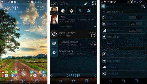 темы Cyanogen