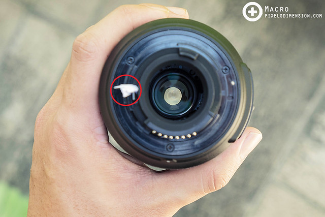 Manual aperture control