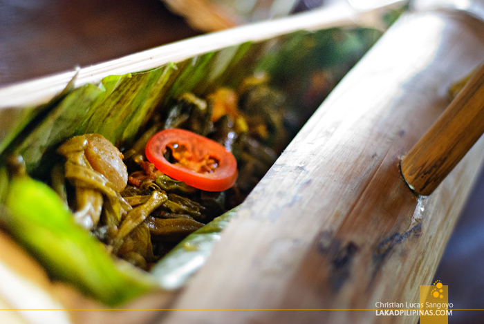 Pinakbet on Bamboo at Pinakbet Farm in Caoayan, Ilocos Sur