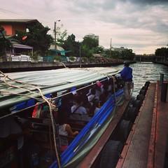 เหรี้ยน้ำกระเด็นเข้าเต็มปาก !!!   #bangkok #thailand #pier
