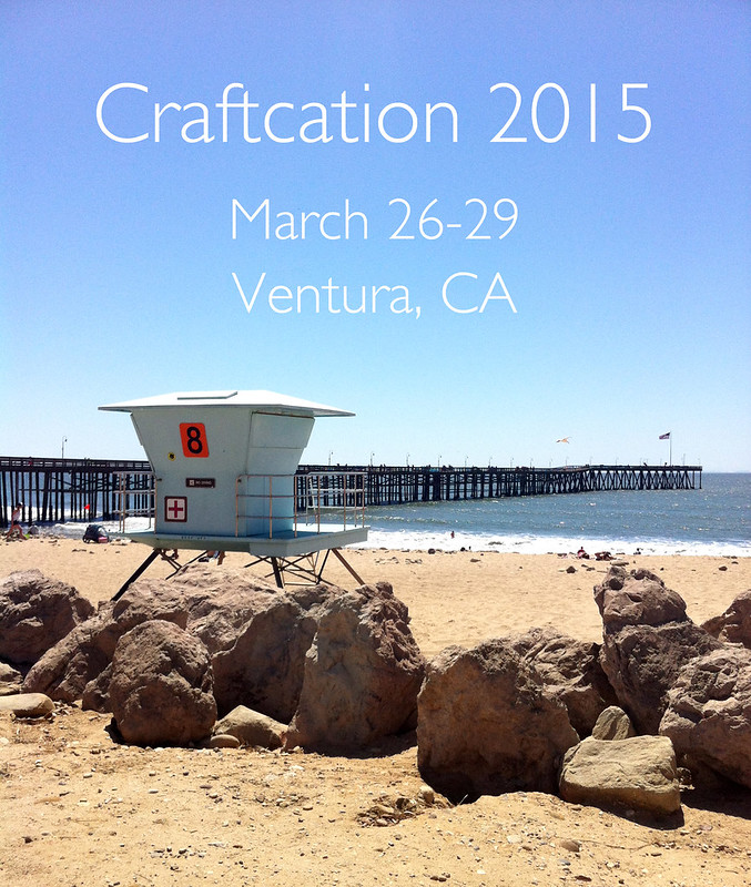 Craftcation Conference, March 26-29, 2015 | www.vitaminihandmade.com