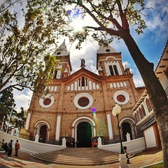 #Loja #Ecuador #lumix #GX7 #fisheye #iglesia #church #photography #fotografía