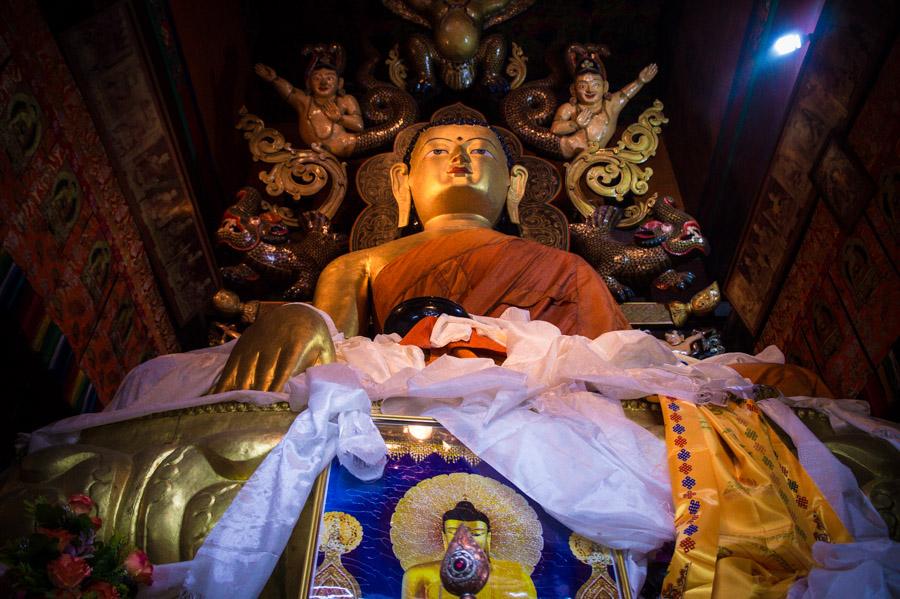 Будда Шакьямуни. . Монастыри Ладакха (Монастыри малого Тибета) © Kartzon Dream - авторские путешествия, авторские туры в Ладакх, тревел фото, тревел видео, фототуры