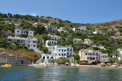 Therma village from boat