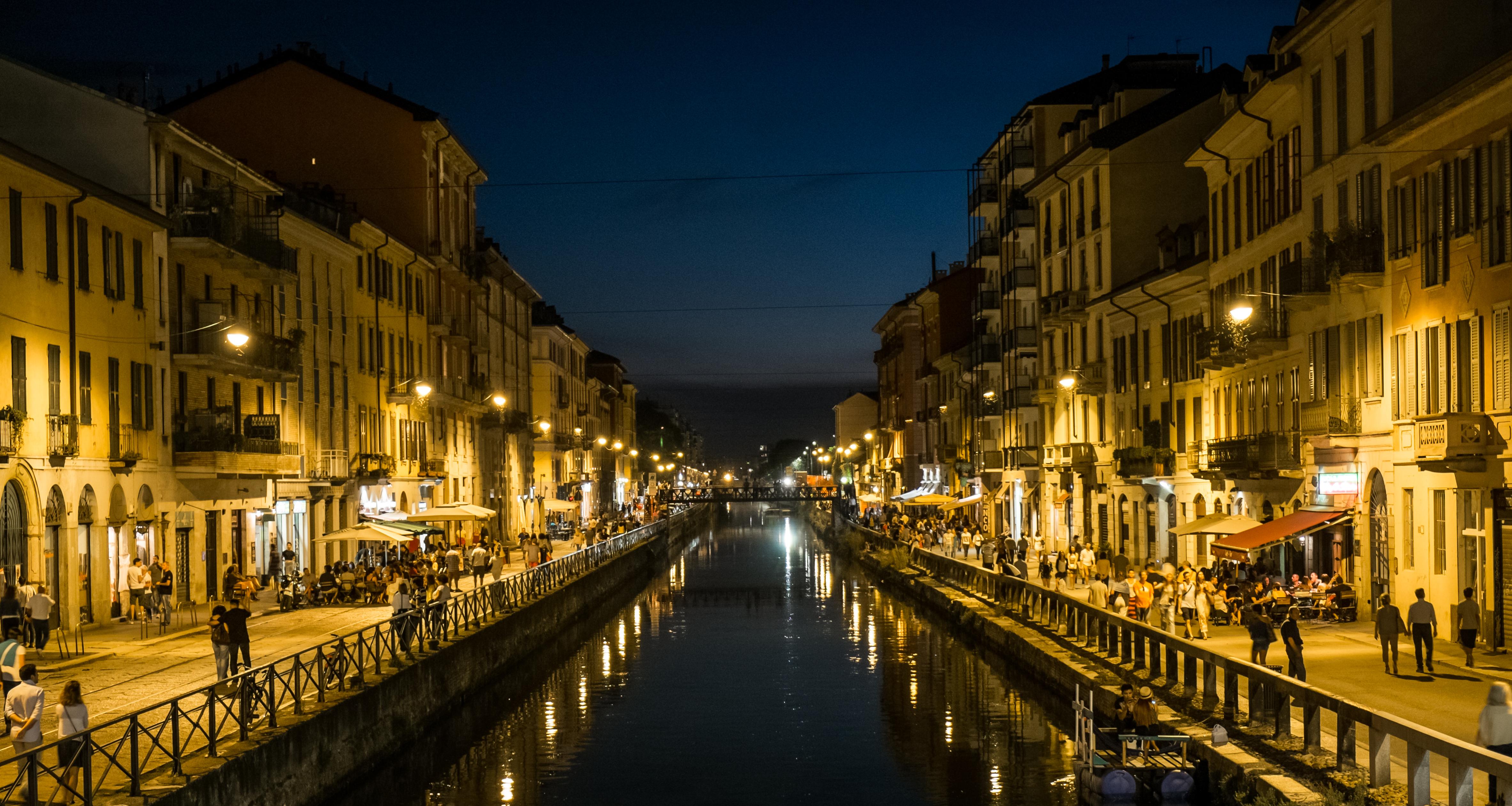Milán, experiencias imprescindibles. Barrio Navigli.