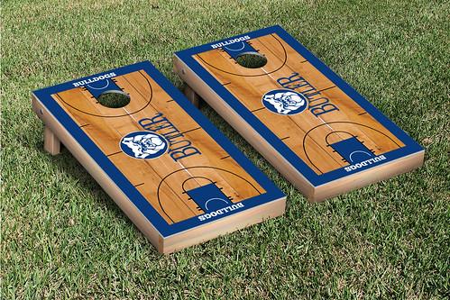Butler Bulldogs Cornhole Game Set Basketball Wooden
