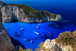 Greece Zakynthos Navagio