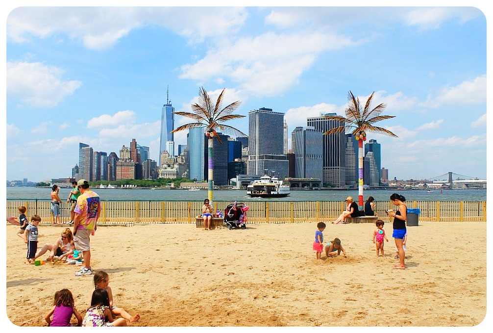 governors island beach