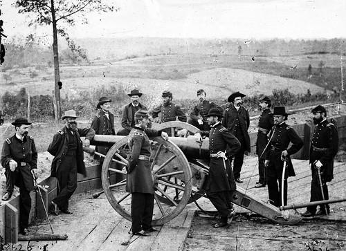 Sherman and men in Atlanta