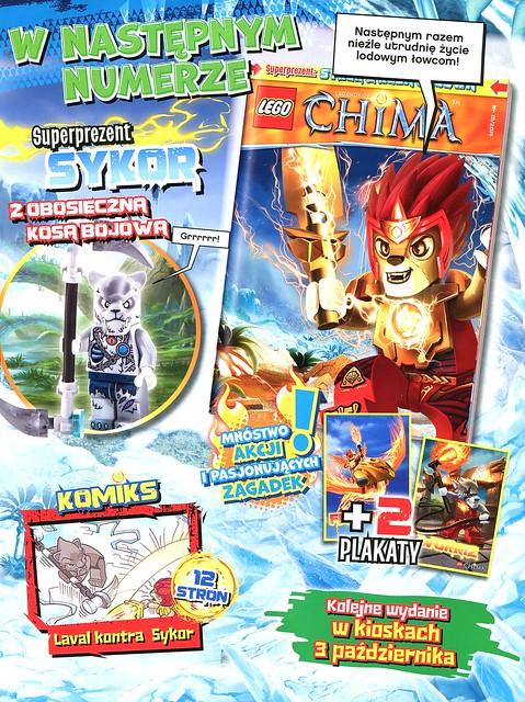 LEGO Legends of Chima Oficjalny Magazyn 2014-09 04