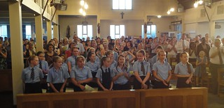140722 - Mass at Blackfen - Retirement of Primary Head Teacher
