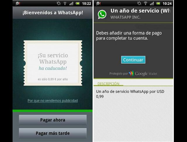 whatsapp tiempo de uso