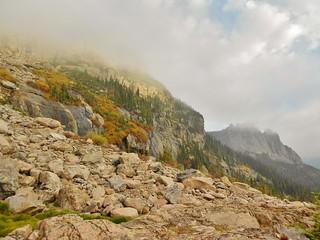Little Matterhorn and The Gable in Fog