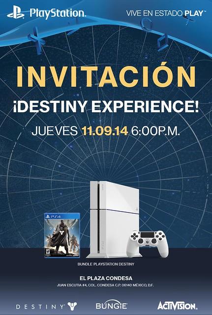 Invitacion Destiny Experience