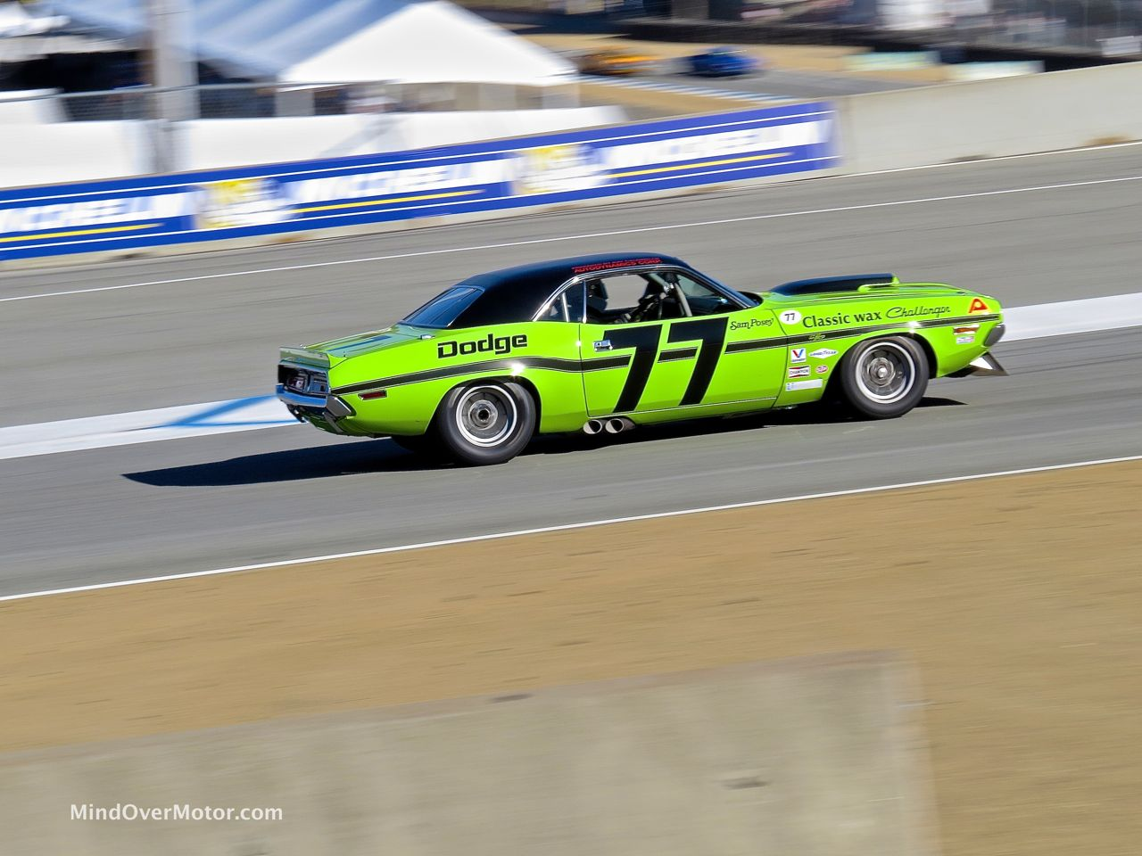 1970 Sam Posey Challenger In Motion 1