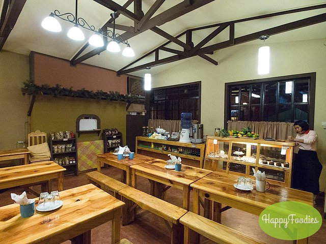 Interior of Sagada Brew
