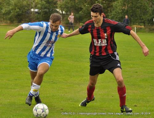 Cliffe FC 0 - 1 Hemingbrough Utd 13Sept14