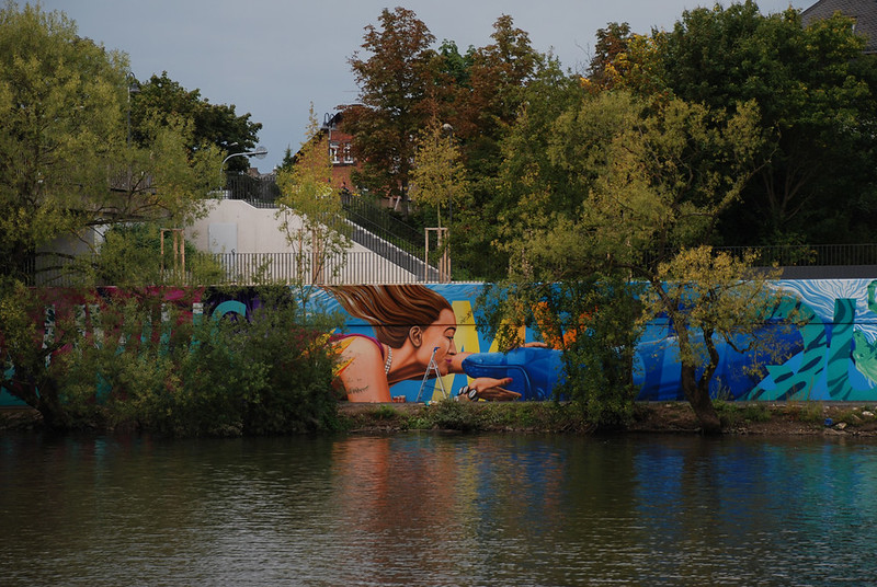 River Tales | Flussgeschichten | 2014 | event of urban art | 3Steps | Fluvius Mystique