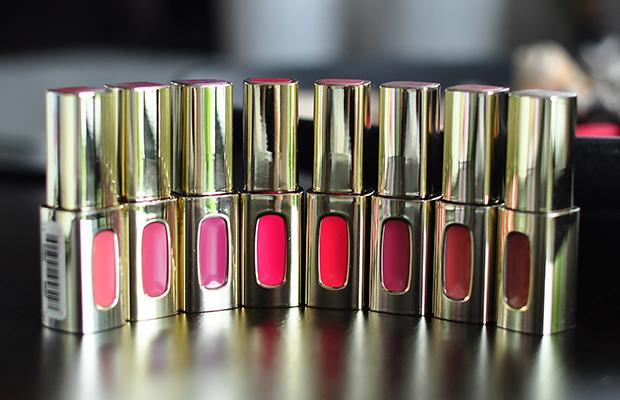 stylelab beauty blog LOreal Color Riche Extraordinaire lipsticks 2a