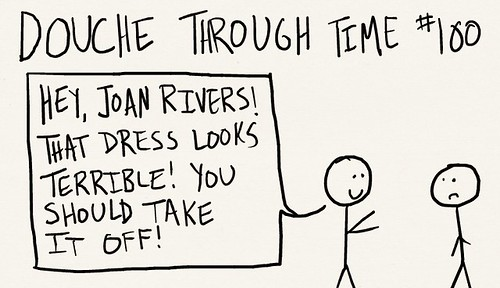 Douche Through Time 100 - Joan Rivers
